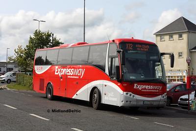 Bus Éireann LC21, James Fintan Lawlor Ave Portlaoise, 23-08-2017