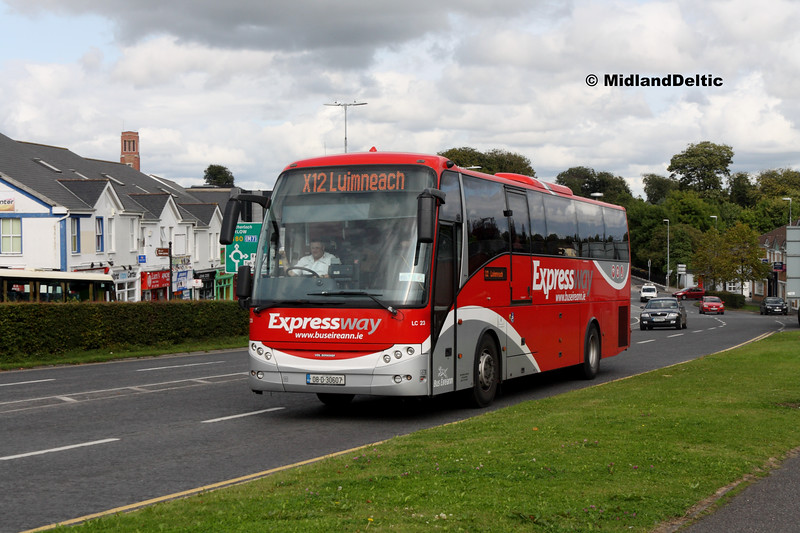 Bus Éireann LC23, James Fintan Lawlor Ave Portlaoise, 23-08-2017