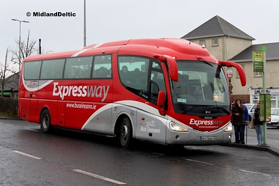 Bus Éireann SP117, James Fintan Lawlor Ave Portlaoise, 24-01-2017