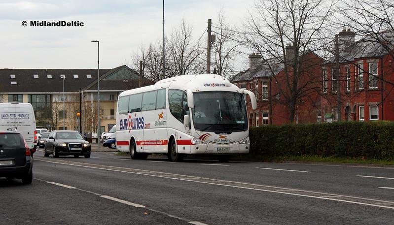 Bus Éireann SP87, James Fintan Lawlor Ave Portlaoise, 31-10-2017