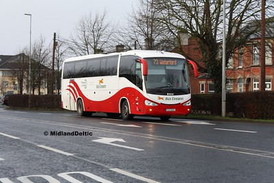 Bus Eireann SC339, James Fintan Lawlor Ave Portlaoise, 31-01-2017