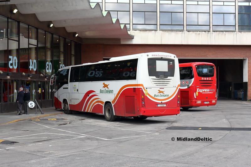 Bus Éireann SC308, Busáras Dublin, 13-05-2018