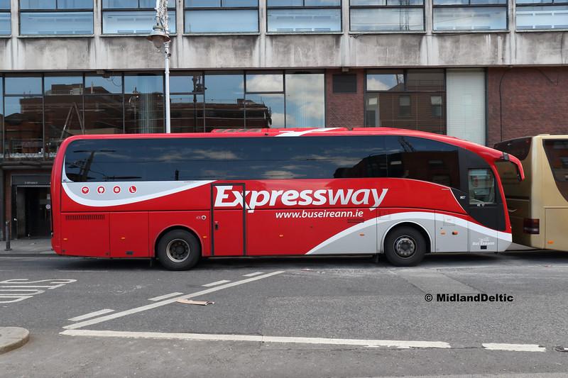 Bus Éireann VE17, Store St Dublin, 13-05-2018