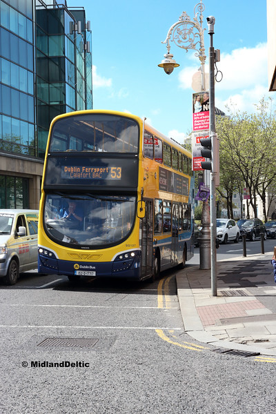 Dublin Bus SG127, Amiens St Dublin, 13-05-2018