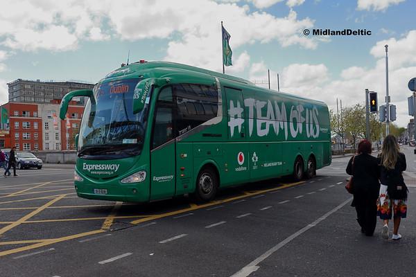 Bus Éireann SE37, Eden Quay Dublin, 13-05-2018