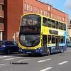 Dublin Bus GT110, Amiens St Dublin, 13-05-2018