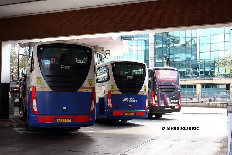 Translink Ulsterbus 2056, 2053, Bus Éireann SE29, Busáras, 13-05-2018