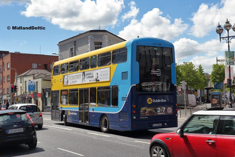 Dublin Bus SG367, Amiens St Dublin, 13-05-2018