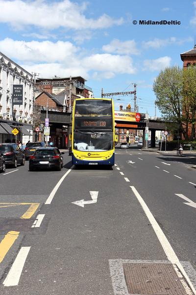 Dublin Bus EV12, Amiens St Dublin, 13-05-2018