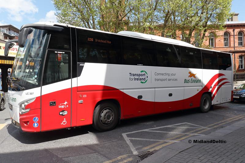 Bus Éireann LC307, Sheriff St Dublin, 13-05-2018