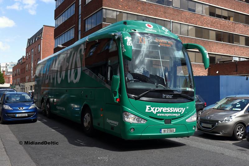 Bus Éireann SE55, Talbot Place Dublin, 13-05-2018
