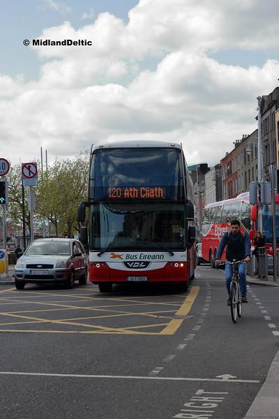 Bus Éireann LD323, Eden Quay Dublin, 13-05-2018