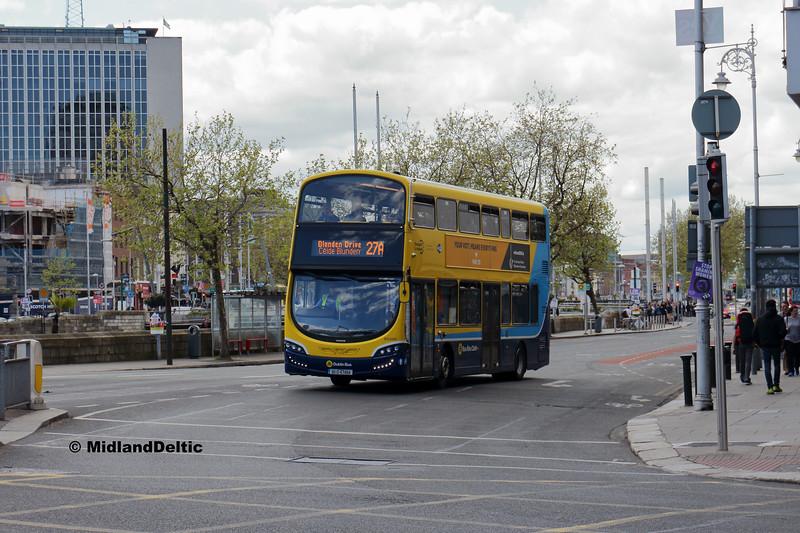 Dublin Bus SG205, Eden Quay Dublin, 13-05-2018