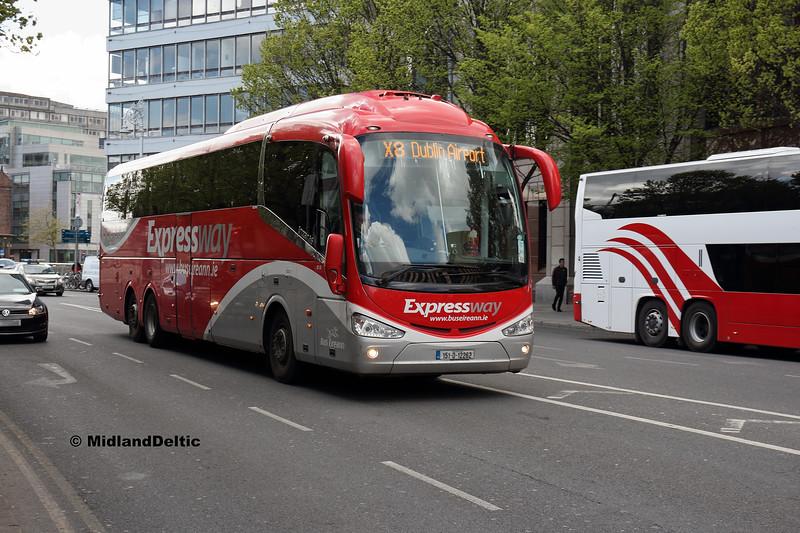 Bus Éireann SE22, Berresford Place Dublin, 13-05-2018