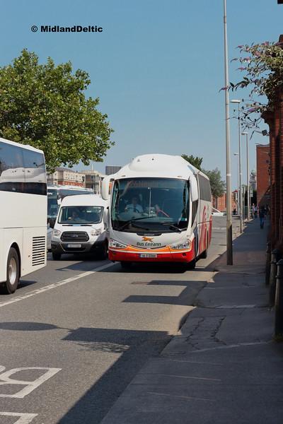 Bus Éireann  SP82, Victoria Quay Dublin, 14-07-2018