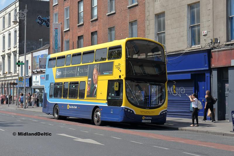 Dublin Bus SG369, Eden Quay Dublin, 14-07-2018