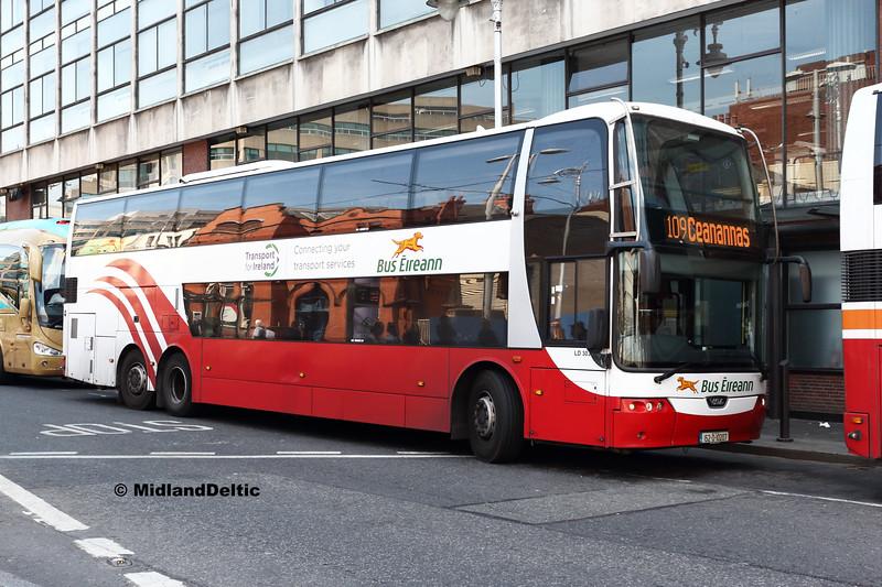 Bus Éireann LD303, Store St, 14-07-2018