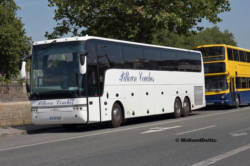 Piltown Coaches 07-KK-8288, Victoria Quay Dublin, 14-07-2018