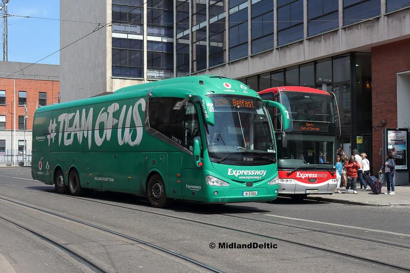 Bus Éireann SE55, Store St Dublin, 14-07-2018