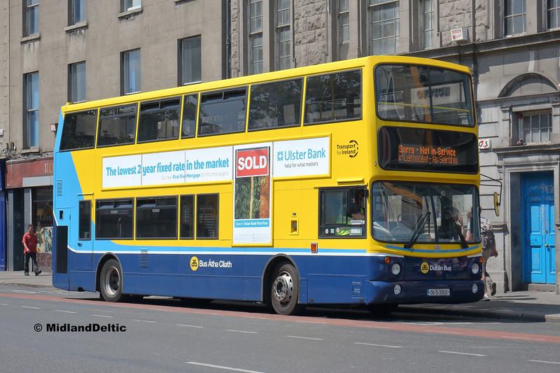 Dublin Bus AX621, Eden Quay Dublin, 14-07-2018