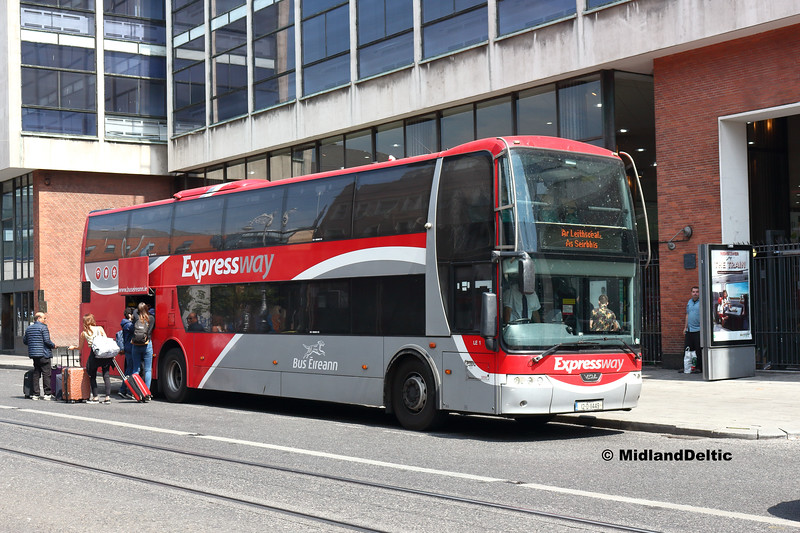 Bus Éireann LE1, Storer St Dublin, 14-07-2018