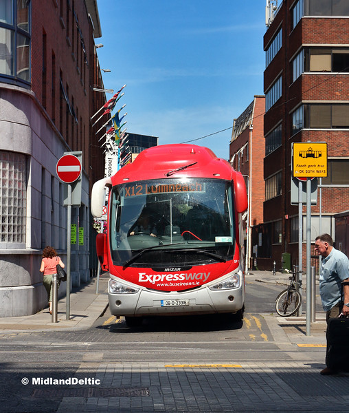 Bus Éireann SP118, Talbot Place Dublin, 14-07-2018
