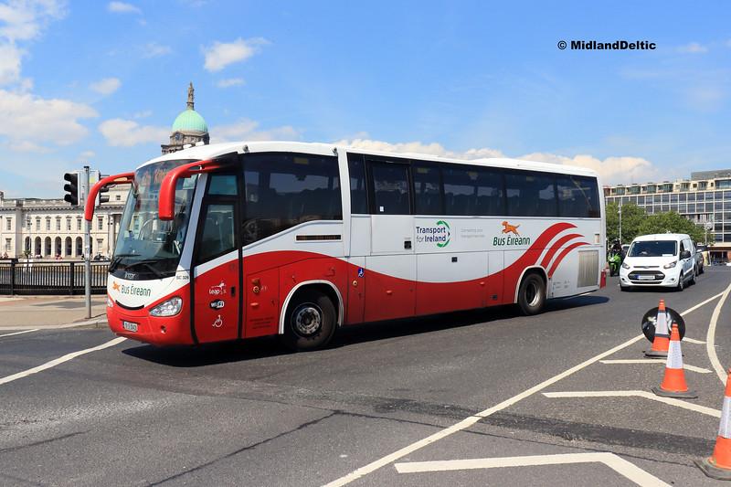 Bus Éireann SC326, Talbot Memorial Bridge Dublin, 14-07-2018