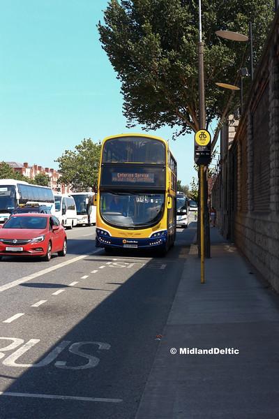 Dublin Bus SG303, Victoria Quay Dublin, 14-07-2018