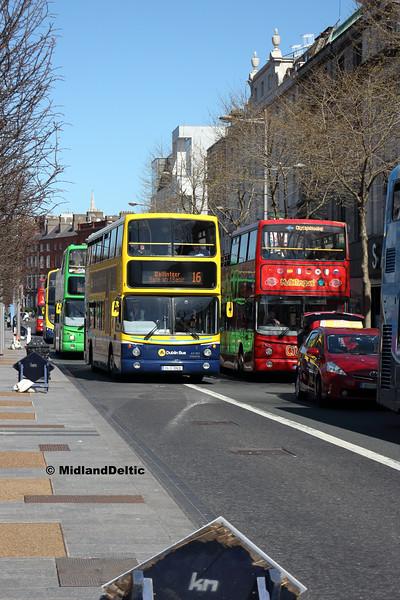 Dublin Bus AX631, O'Connell St Dublin, 21-04-2018