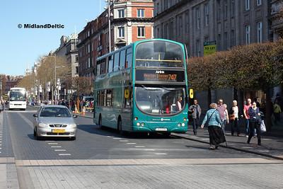 Dublin Bus VG38, O'Connell St Dublin, 21-04-2018