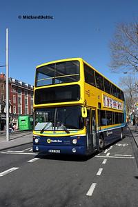 Dublin Bus AX629, O'Connell St Dublin, 21-04-2018