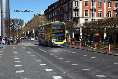 Dublin Bus SG183, O'Connell St Dublin, 21-04-2018