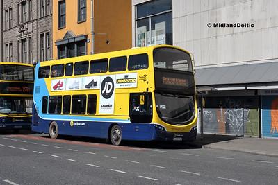 Dublin Bus SG125, Eden Quay Dublin, 21-04-2018