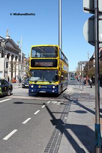 Dublin Bus AX600, O'Connell St Dublin, 21-04-2018