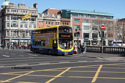 Dublin Bus SG331, O'Connell Bridge Dublin, 21-04-2018