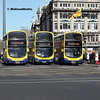 Dublin Bus SG140, GT137, SG331, O'Connell Bridge Dubin, 21-04-2018