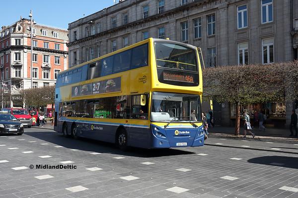 Dublin Bus VT19, O'Connell St Dublin, 21-04-2018