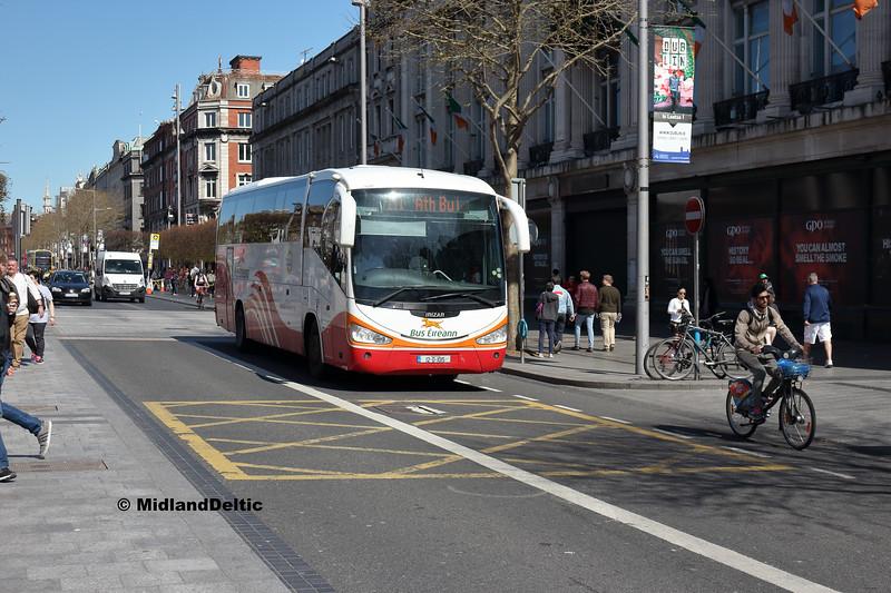 Bus Éireann SC317, O'Connell St Dublin, 21-04-2018