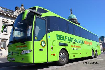 Dublin Coach 181-KE-1464, Custom House Quay Dublin, 21-04-2018
