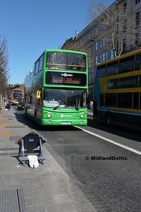Dublin Bus AX510, O'Connell St Dublin, 21-04-2018