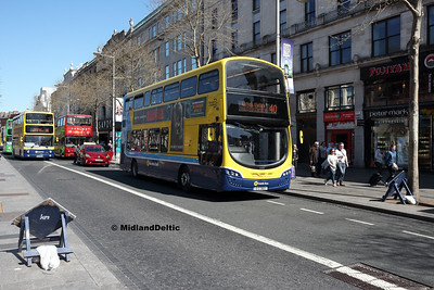 Dublin Bus SG81, O'Connell St Dublin, 21-04-2018
