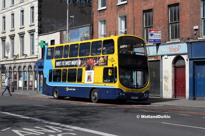 Dublin Bus GT66, Eden Quay Dublin, 21-04-2018