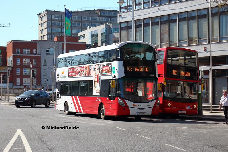 Bus Éireann VWD82, Bruen 03-D-121448, Beresford Place Dublin, 21-04-2018