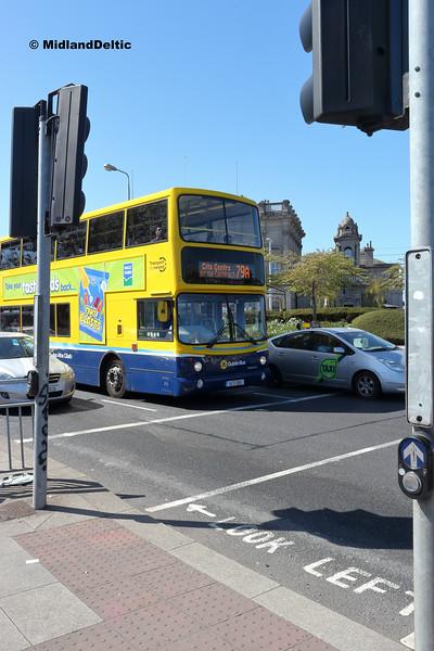 Dublin Bus AX611, St Johns Rd West Dublin, 21-04-2018