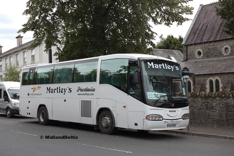 Martley's 03-LS-6145, Railway St Portlaoise, 31-08-2018