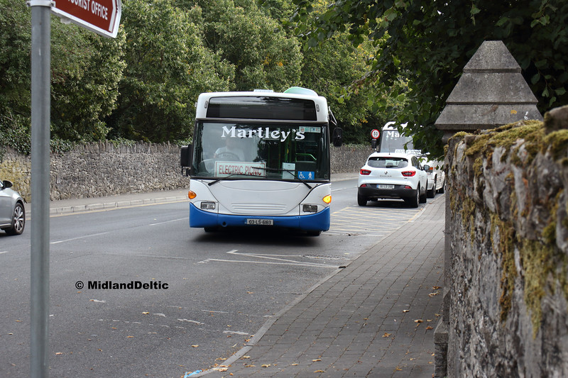 Martley's 03-LS-6163, Railway St Portlaoise, 31-08-2018