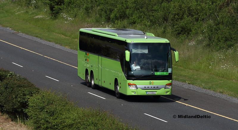 Dublin Coach 12-D-38993, M7 Portlaoise, 04-06-2018