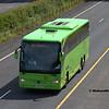 Dublin Coach 142-KE-1185, M7 Portlaoise, 04-06-2018