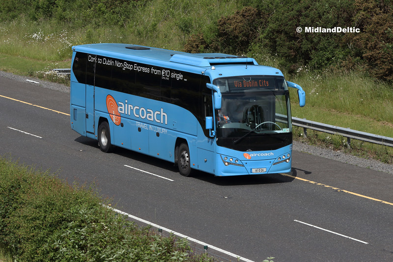 First Aircoach 141-D-24, M7 Portlaoise, 04-06-2018