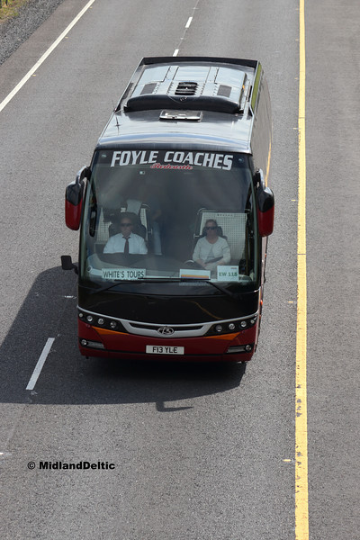Folye Coaches F13YLE, M7 Portlaoise, 04-06-2018